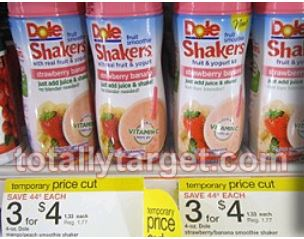 Dole Shakers for just $.58 eac...